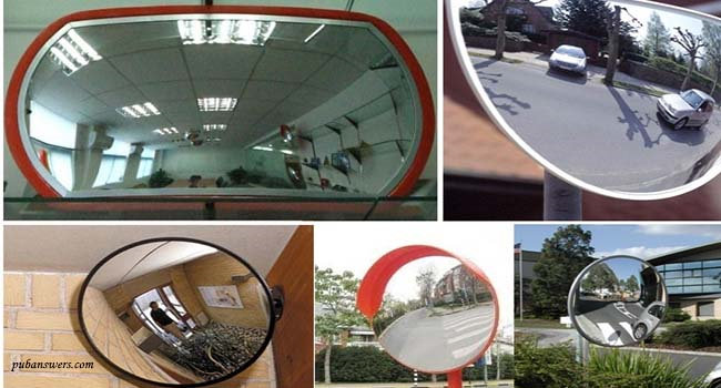 concave mirror in daily life