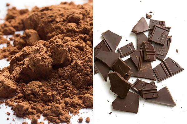 Unsweetened chocolates