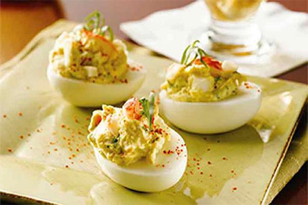 upscale deviled eggs