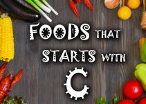 foods that start with c